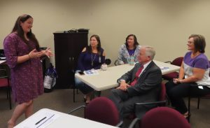 Clerk Staff Train on Domestic Violence Awareness